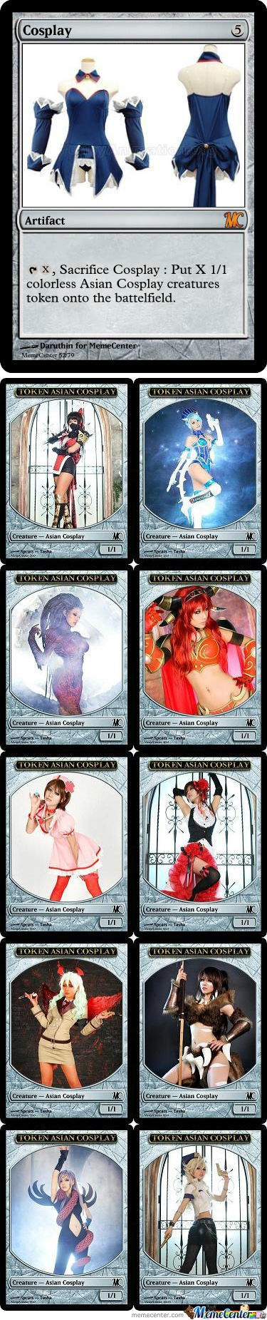 Memecenter The Gathering Card 27 And Tokens