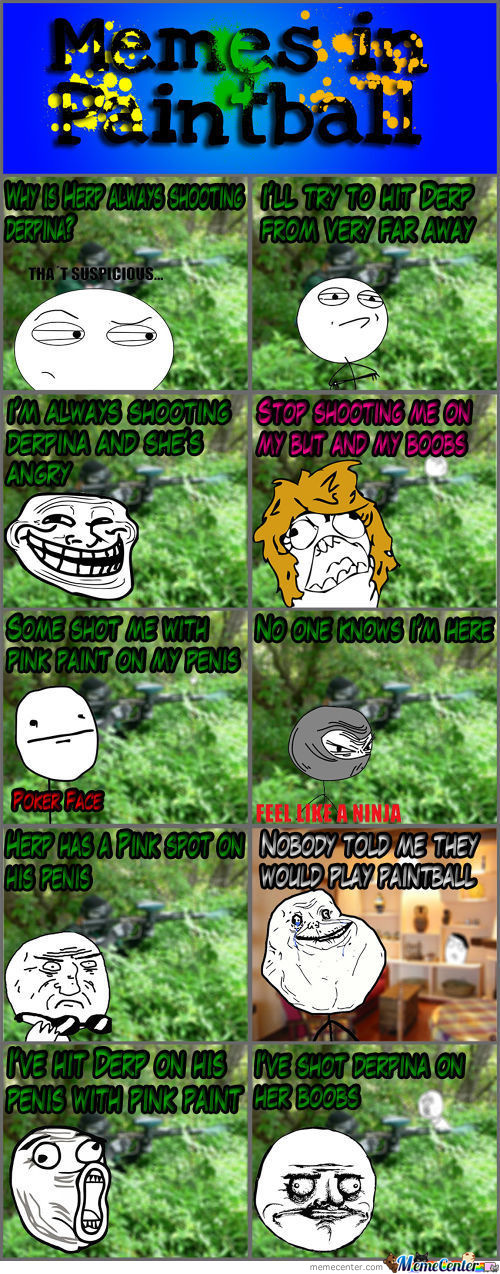 Memes In Paintball