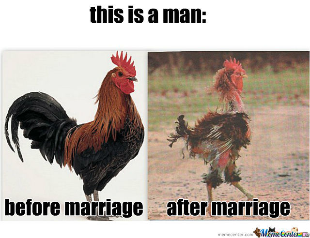 men after marriage