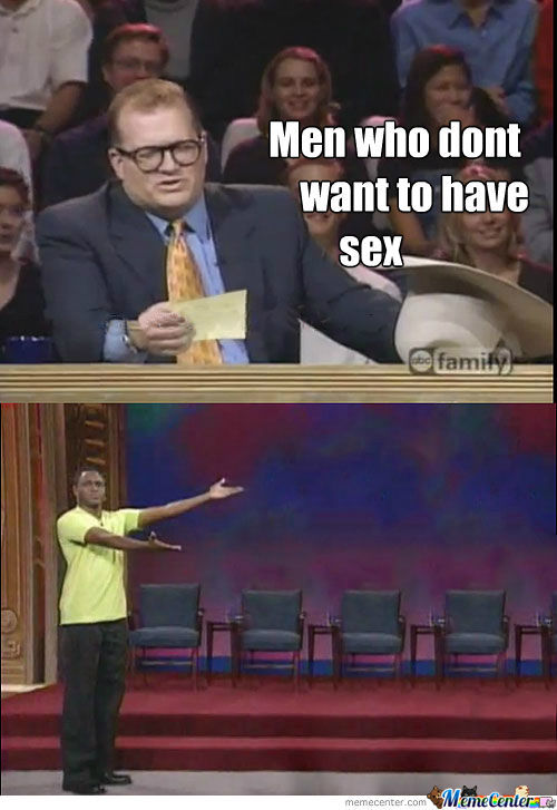 Man who dont want sex