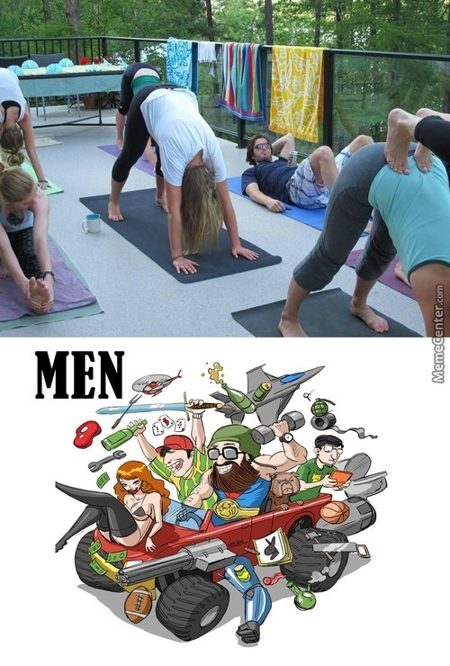 Men Will Be Men As Always