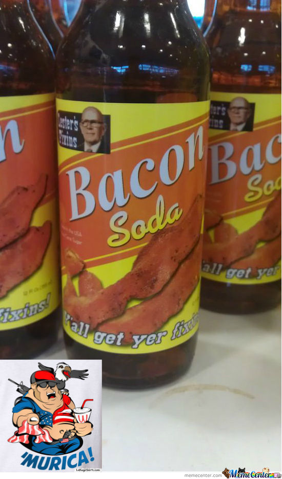 Bacon Soda 'merica