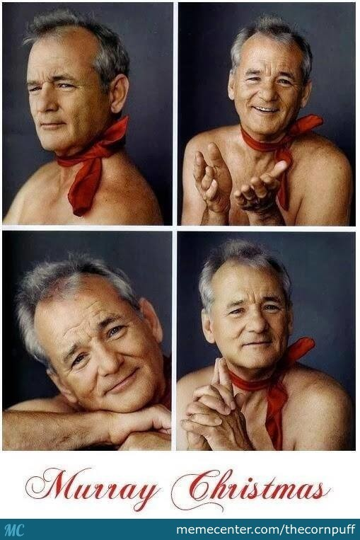 merry christmas from bill murray_o_2618159 merry christmas from bill murray by thecornpuff meme center