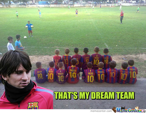 Messi Approves.