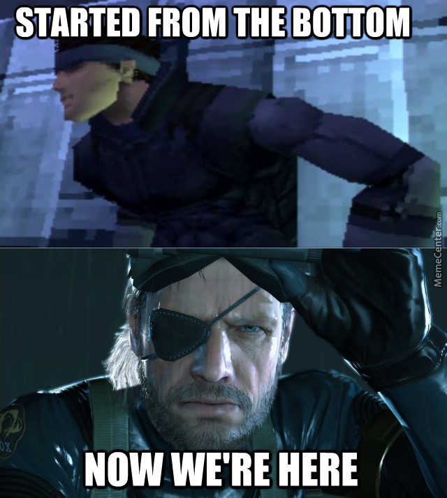 Metal Gear Solid 1998 - 2014