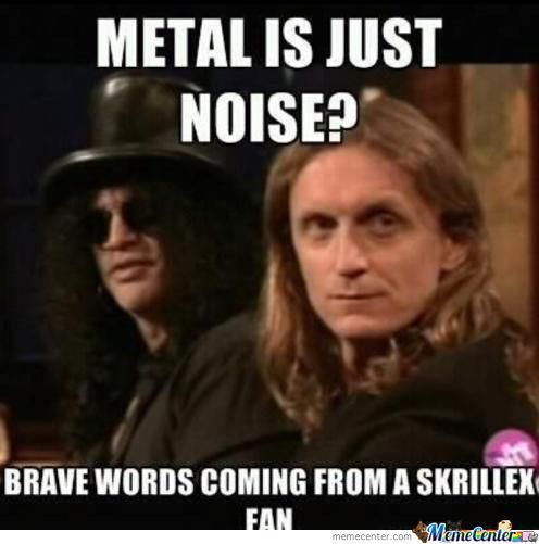 Metal Is Just Noise?
