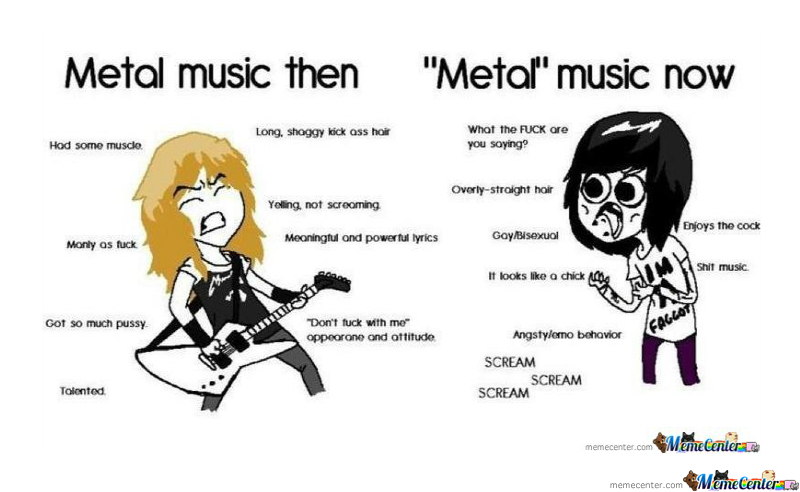 a comparison of the music types metal and rap Many different types of music are  there are many sites on the web that offer varying levels of comparison for insurance  heavy metal music hip hop and rap.
