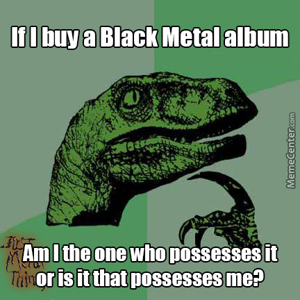 Metal Philosoraptor