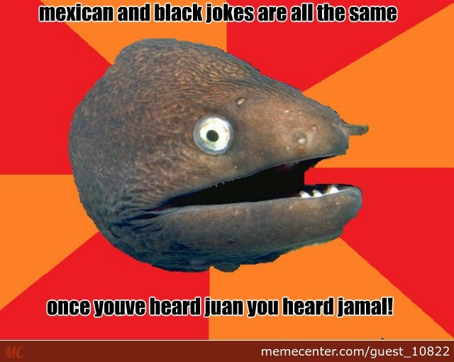 Mexican And Black Jokes