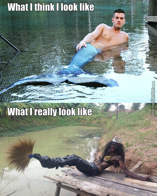 Mfw When I'm Acting Like A Mermaid