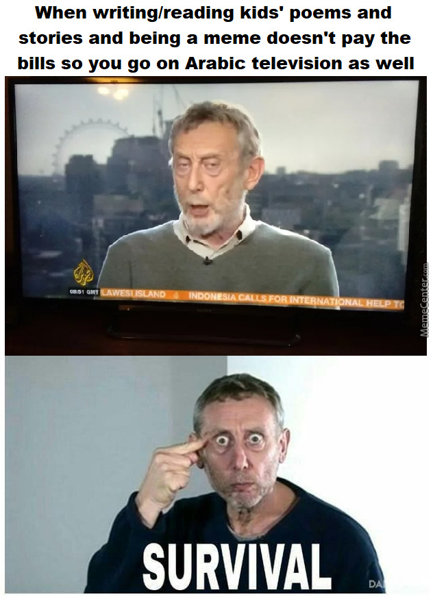 Michael Rosen Is A Man Of Many Talents