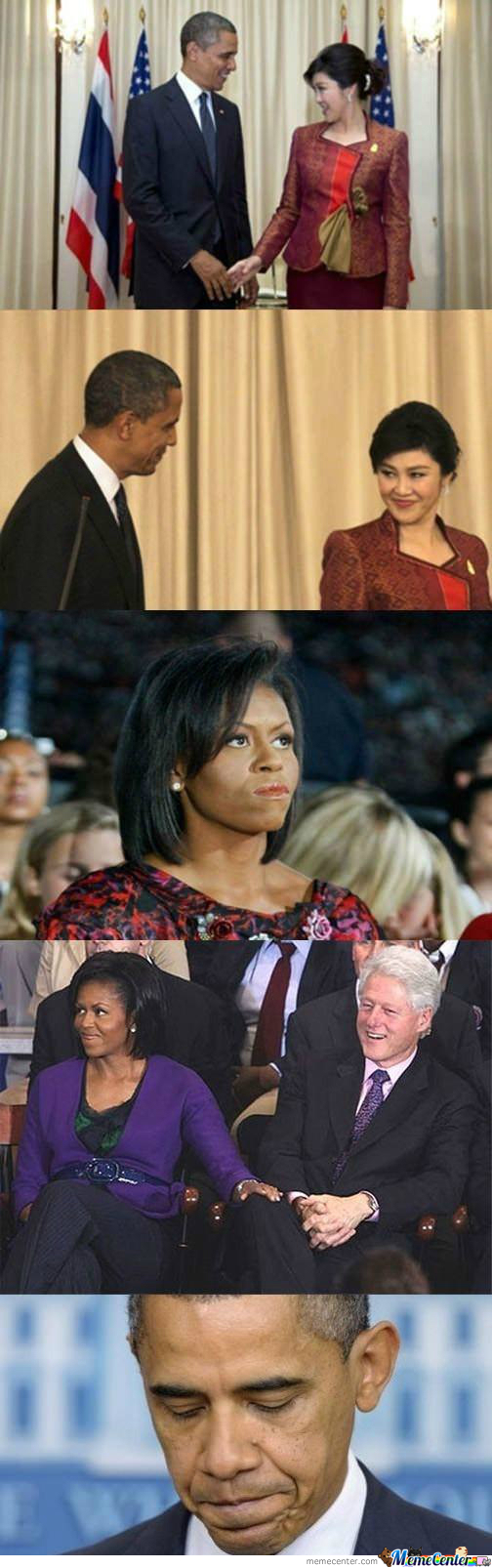 Michelle & Barack Obama Making Each Other Jealous by ...