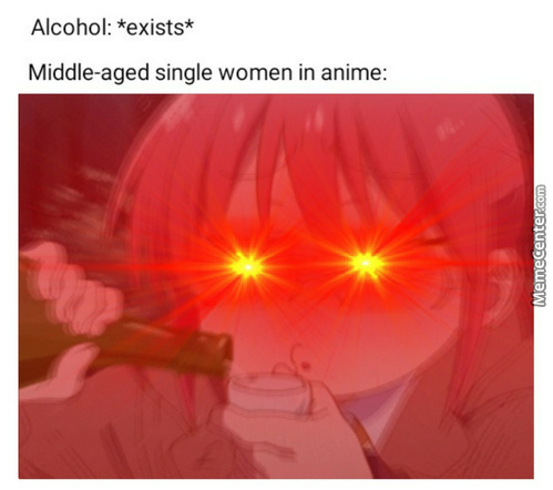 Middle Aged Waifu's Are Top Tier Compared To Slutty High Schooler Sluts