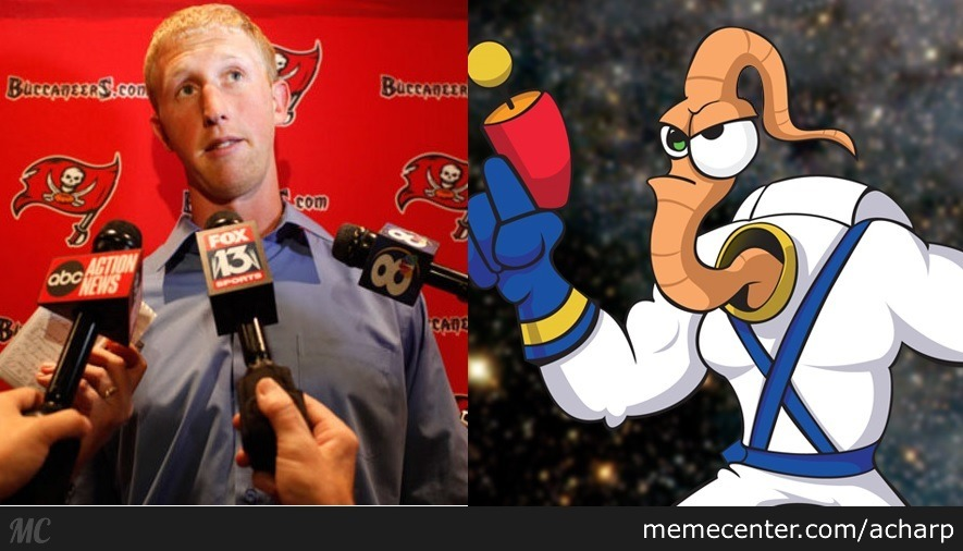 mike glennon and earthworm jim_o_2504751 mike glennon and earthworm jim by acharp meme center