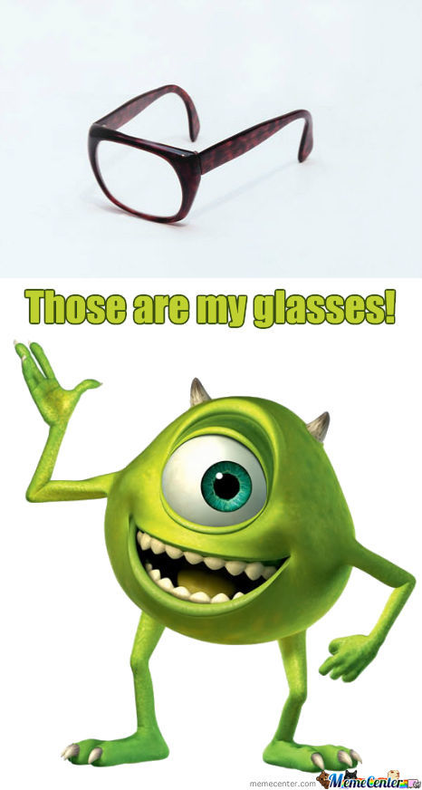 Mike Wazowski's Glasses