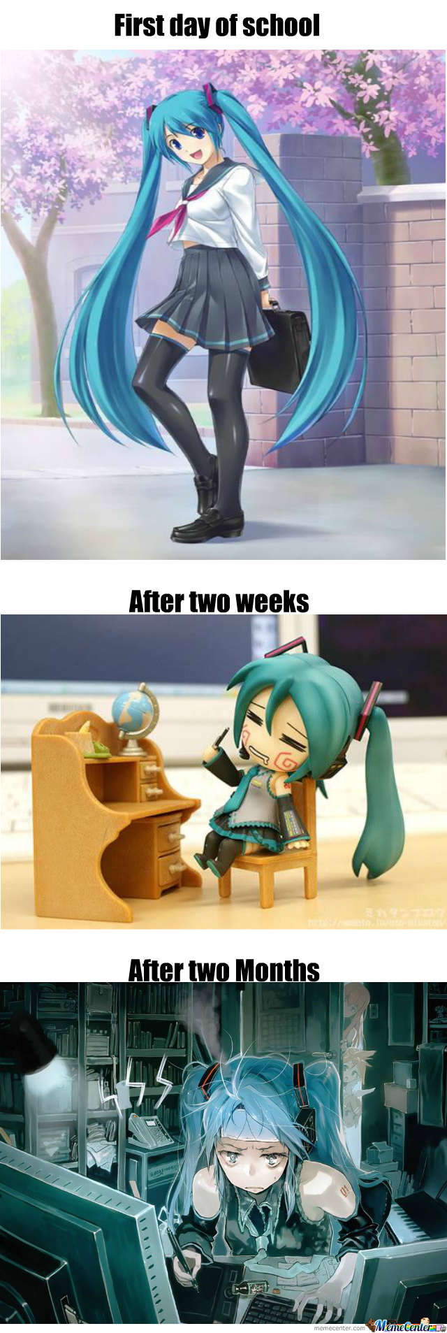 Miku Does Not Like School (And Neither Do I)