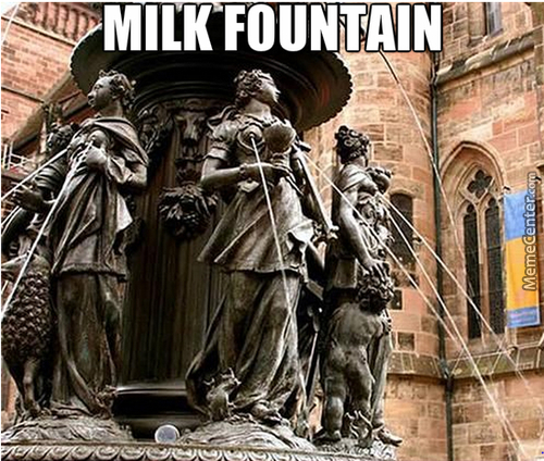 Milk Fountain