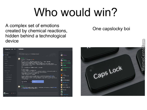 Millions Of Lives Decimated Each Year Because Of Caps Lock.