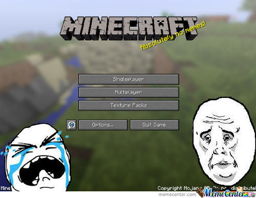 Minecraft: Absolutely No Memes