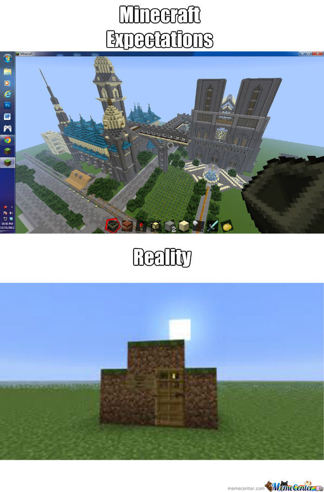 Minecraft Expectations: Notre Dame