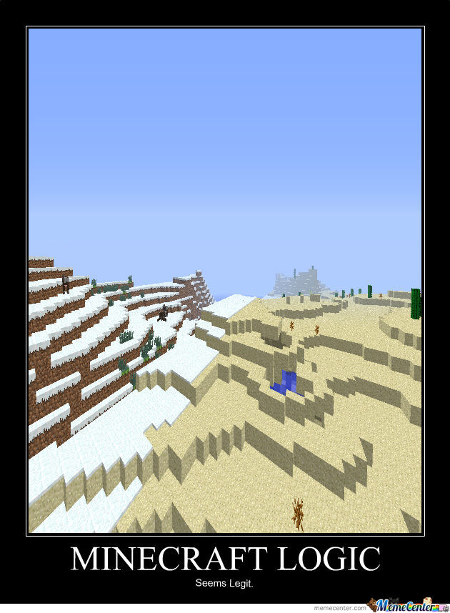 Minecraft Logic By Lupin Meme Center
