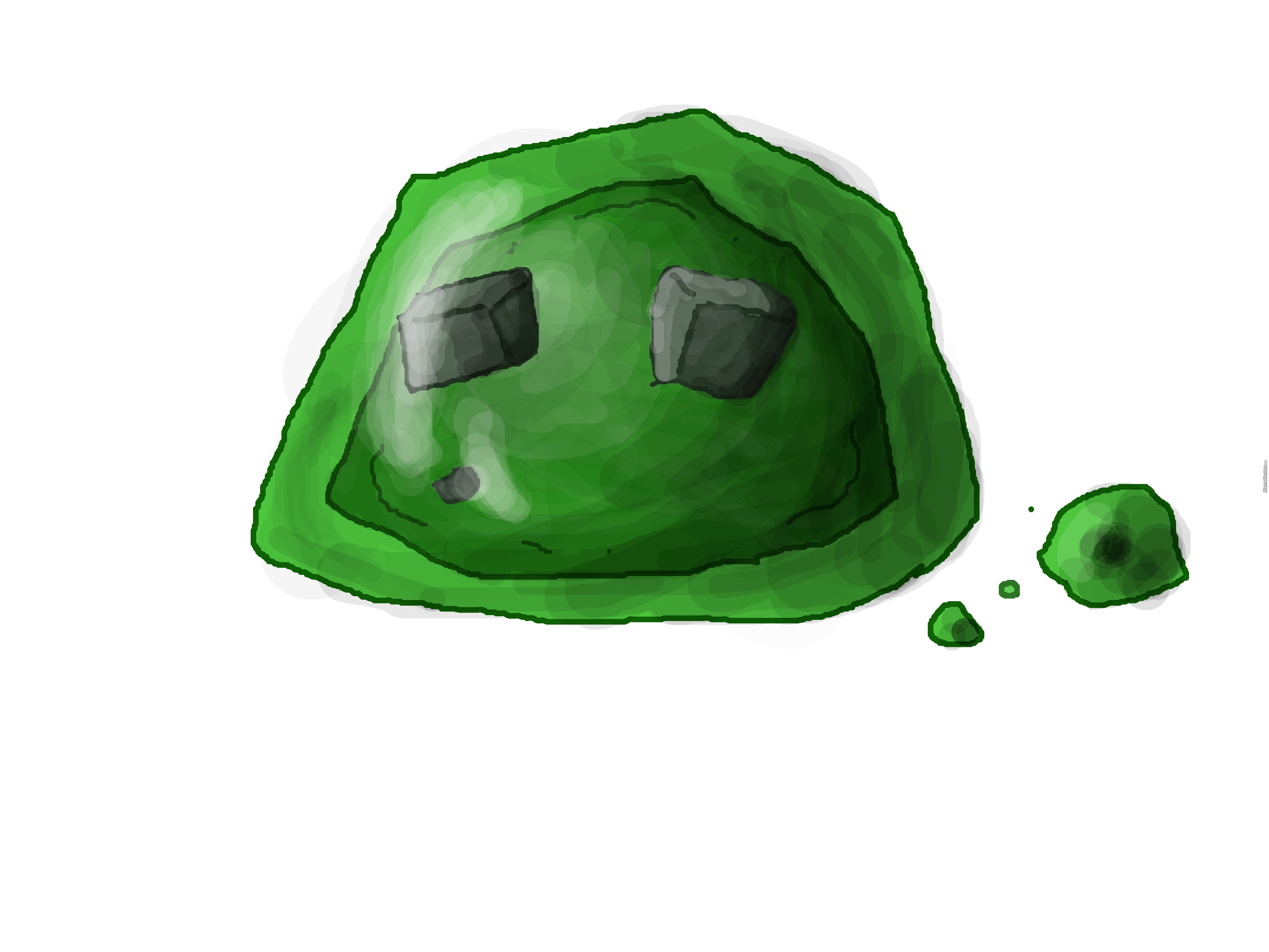 Pleasing Minecraft Slime Fan Art By Hauntedboy Meme Center Ocoug Best Dining Table And Chair Ideas Images Ocougorg
