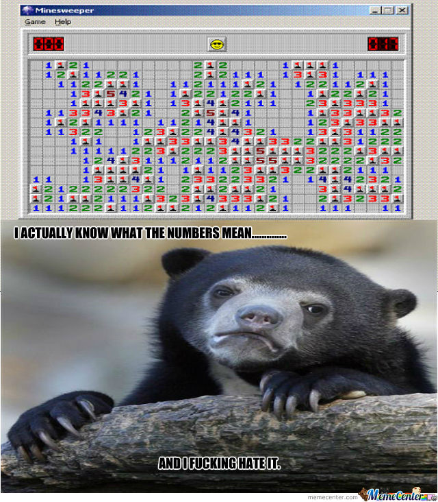 Minesweeper Bear