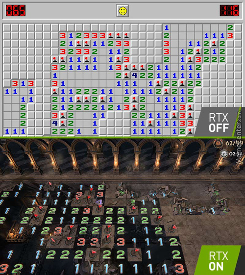 Minesweeper Rtx Off / Rtx On