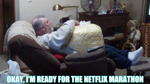 Minute 0,1: I'm Out Of Popcorn