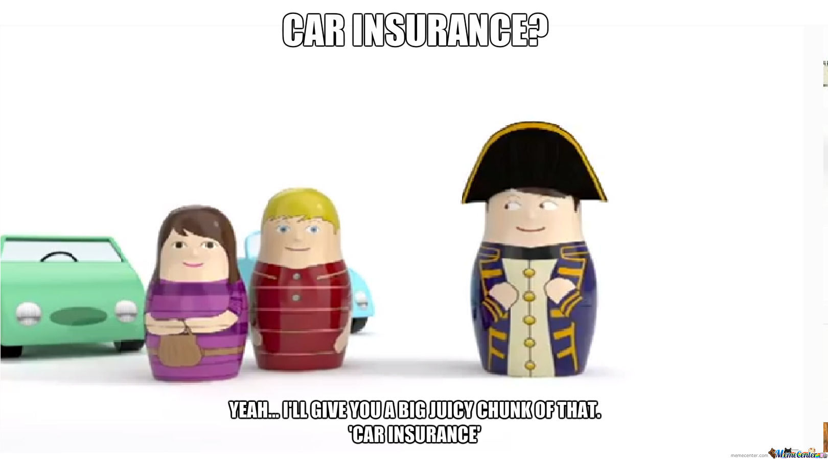 mismeaningful car insurance man_o_1181959 mismeaningful car insurance man by sugarshimmer meme center,Auto Insurance Memes