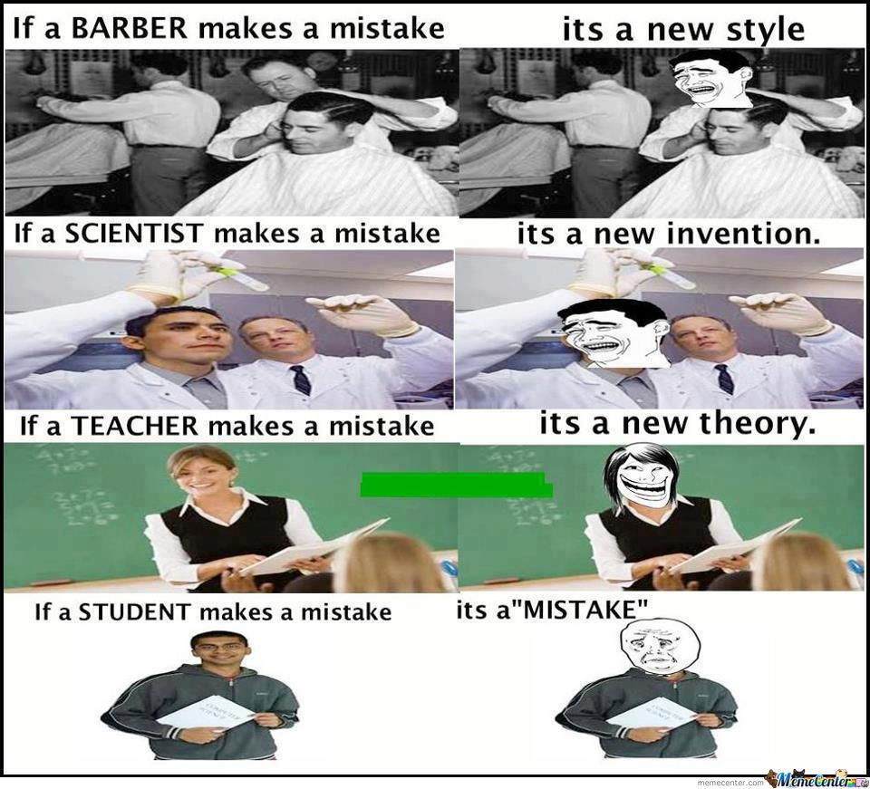 Mistake Is A Mistake!