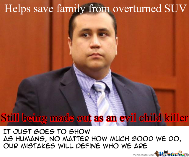 Misunderstood Zimmerman