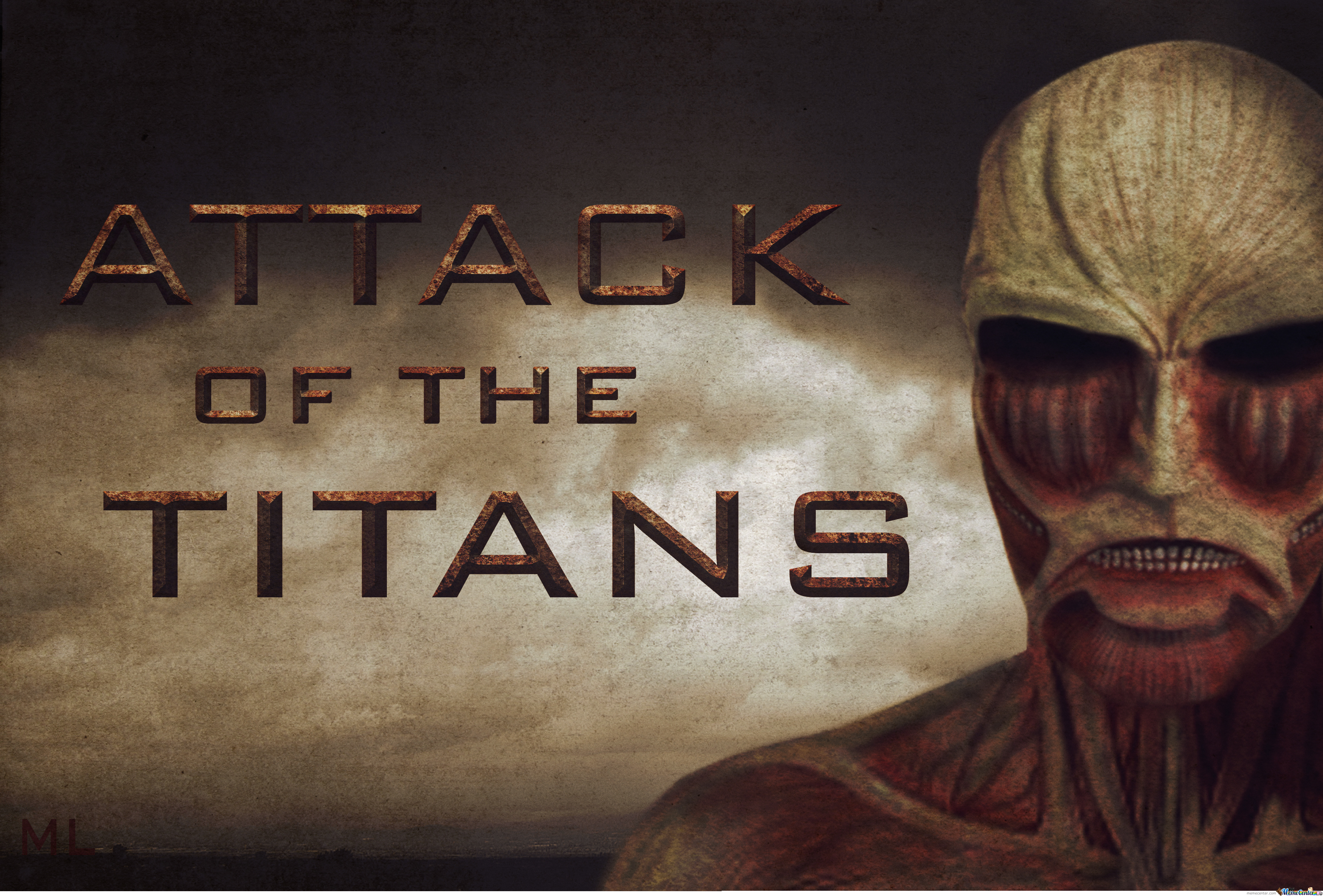 [Mix Media: #3] Attack Of The Titans