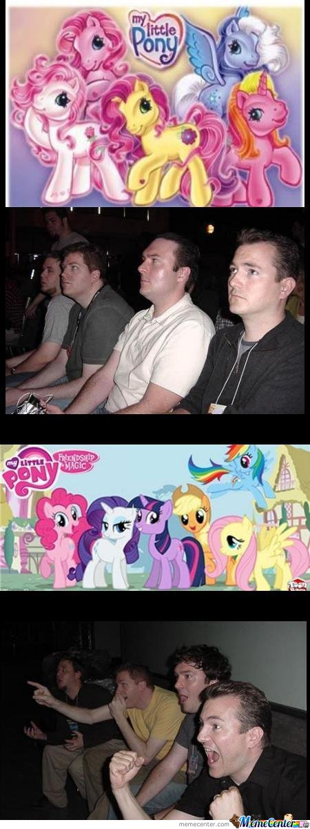 Mlp Now And Then