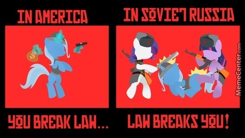 Mlp Takes Place In Soviet Russia Confirmed