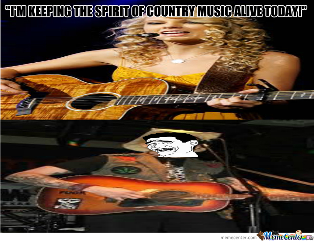 The authenticity of modern country music