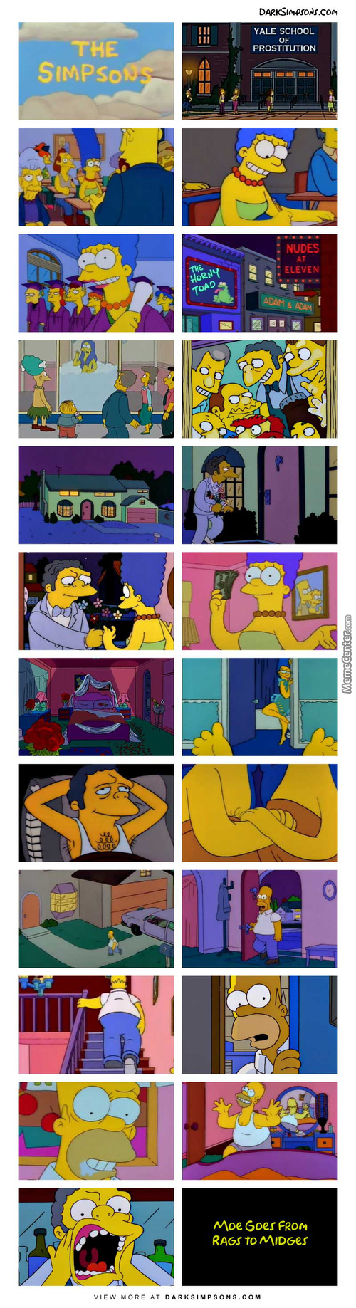 Moe: Hello, Yeah I'd Like To Arrange For An Escort Please. To Where? How About Orgasmville!
