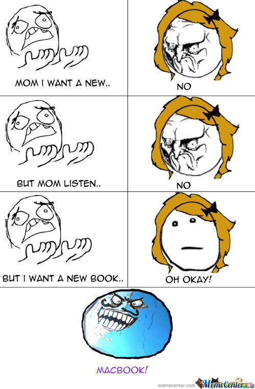 Mom I Want A New Book