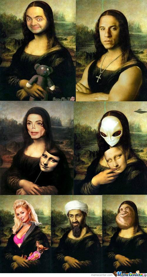 Mona Lisa Is It.........>.<
