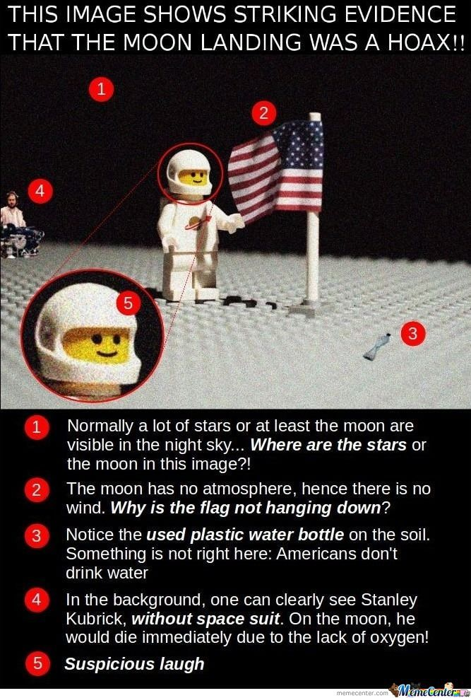moon landing is a hoax striking evidence_o_673123 moon landing memes best collection of funny moon landing pictures,Moon Landing Meme