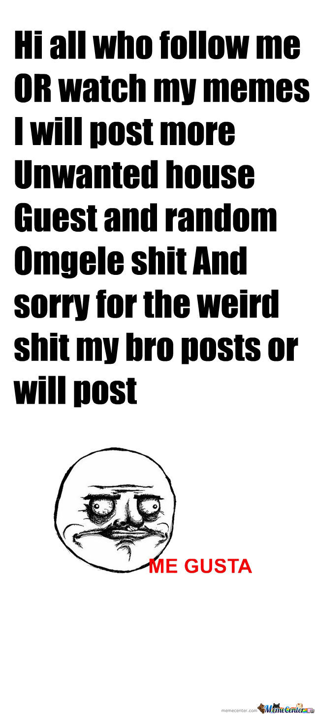 more omegle random shit and unwanted house guest by digitalbks rh memecenter com