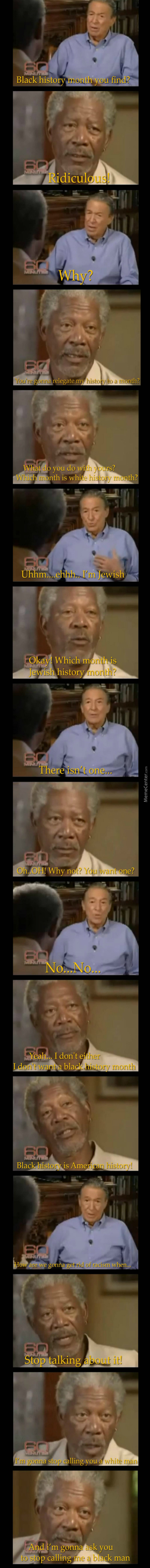 Morgan Freeman On Racism