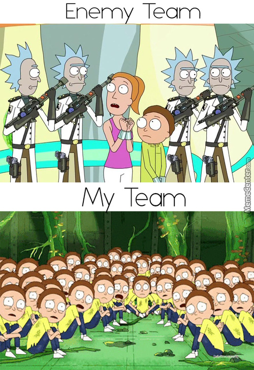 Mortys Have No Chance Of Defeating A Rick