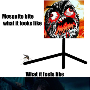 Mosquito Bites Feels By Deciwizard Meme Center