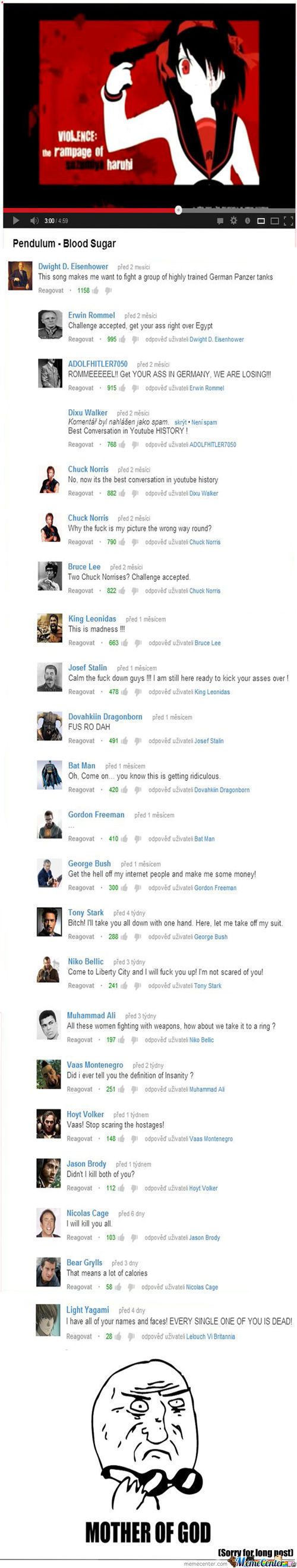 Most Epic Conversation Of Youtube History (Fixed)