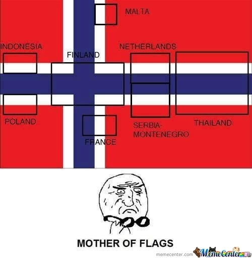 Mother Of Flags...