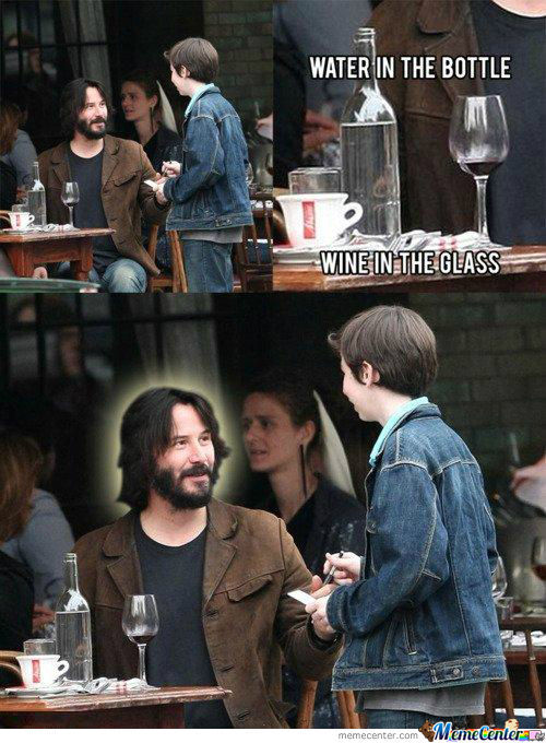 Mother Of Keanu...