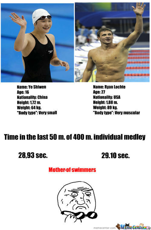 Mother Of Swimmers!