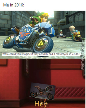 Motorcycle In Zelda