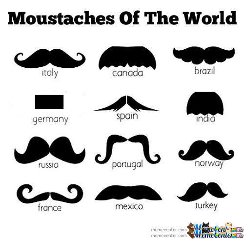 Moustaches Of The World (Fixed)